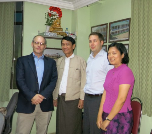 Foundation Staff Join Burma Delegation