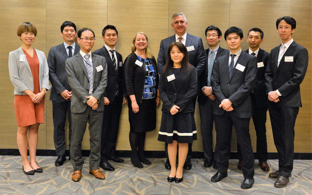 Alumni Mansfield-PhRMA Research Scholars Gather in Tokyo