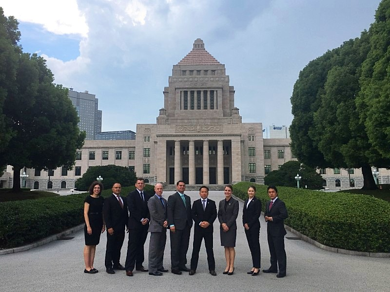 23rd Class of Mansfield Fellows in Tokyo